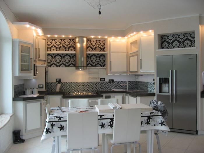 Cucina in muratura u idee per cucine moderne rustiche country